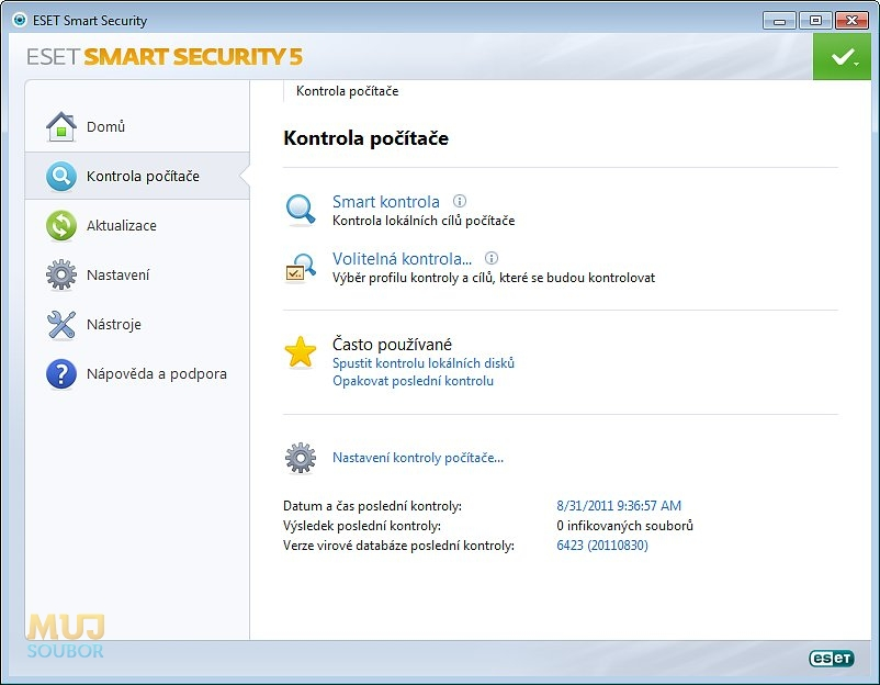Eset Smart Security 10 O >> ESET Smart Security ke stažení zdarma - download - Mujsoubor.cz