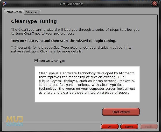 ClearType Tuner