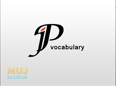 jP vocabulary