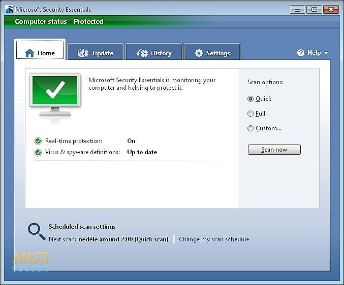 Microsoft Se... Security Essentials 32 Bit