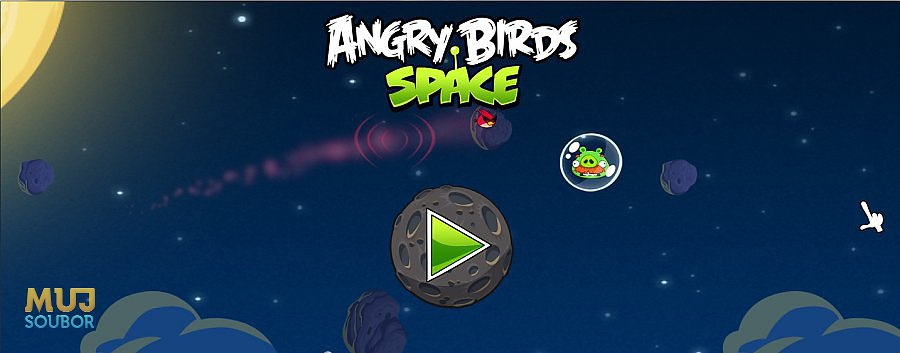 Menu - Angry Birds Space