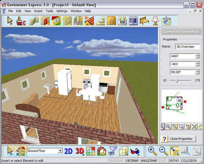 Envisioneer express ke sta en zdarma download for Programas para hacer casas virtuales