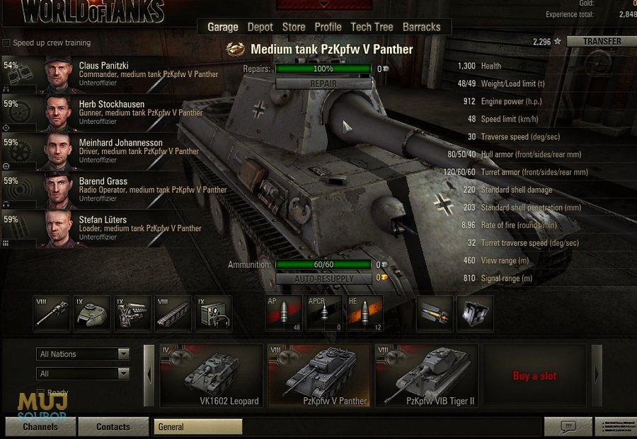 Nejlepší tank world of tanks