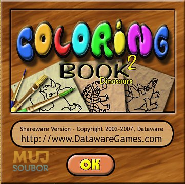 Coloring Book 2: Dinosaurs