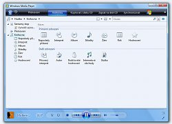 Windows Media Player - KnihovnaWindows Media Player