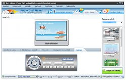 Photo DVD Maker - Tvorba Menu