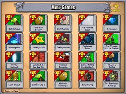 Plants vs Zombies - Mini-hry