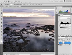 Adobe Photoshop CS3 - Histogram