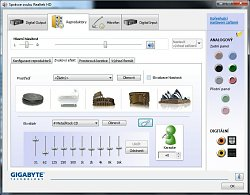Realtek High Definition Audio - EkvalizérRealtek High Definition Audio