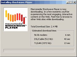 InstalaceShockwave Player