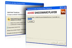 Flash přehrávačShockwave Player