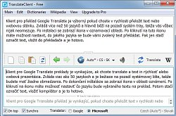 PřekladClient for Google Translate