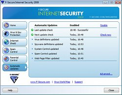 AntivirusF-Secure Internet Security