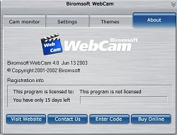 Biromsoft WebCam Software