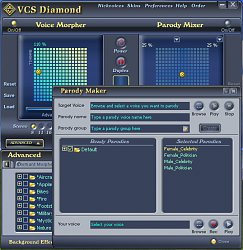 NastaveníAV Voice Changer Software