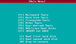 MenuUltimate Boot CD
