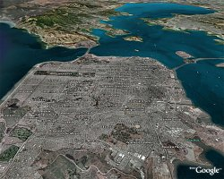 Google Earth - San Francisco