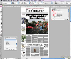 TiskovinyAdobe InDesign