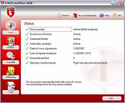 StatistikaG DATA AntiVirus