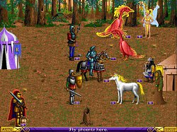 SoubojHeroes of Might and Magic