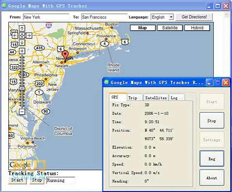 Google Maps with GPS Tracker