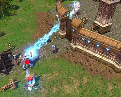 Ochrana hradeb městaHeroes of Might and Magic 5
