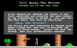 ÚvodJill of the Jungle - Jill Saves the Prince