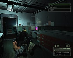 Co s těly?Splinter Cell: Chaos Theory