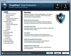 NastaveníTrustPort Total Protection 2013
