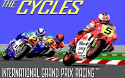 Grand Prix Circuit - The Cycles