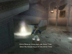 Doplňování energiePrince of Persia: The Sands of Time