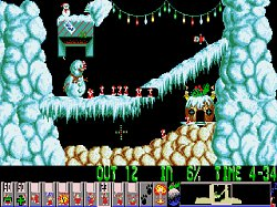 Rychle do cíleLemmings - Holiday