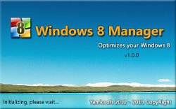 Windows 8 Manager nabíhá