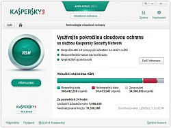 Cloudové službyKaspersky Anti-Virus 2013