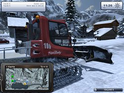 Pisten Bully 100Ski Region Simulator 2012