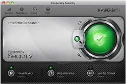 Centrum ochranyKaspersky Security for Mac 2013