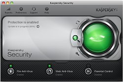 AktualizaceKaspersky Security for Mac 2013