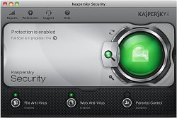 ScanováníKaspersky Security for Mac 2013