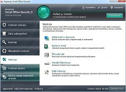 NástrojeKaspersky Small Office Security 2