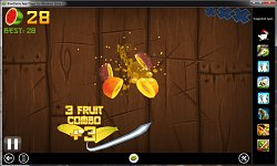 Fruit ninjaBlueStacks App Player