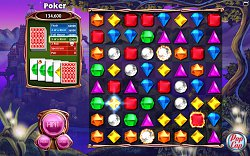 Poker verzeBejeweled 3