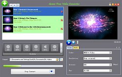 Převod formátuGreen Free Video Converter