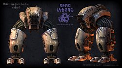 Machinegun-head robotDead Cyborg: Episode 2