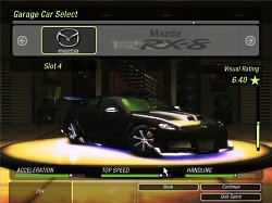 Mazdar RX-8Need for Speed: Underground 2