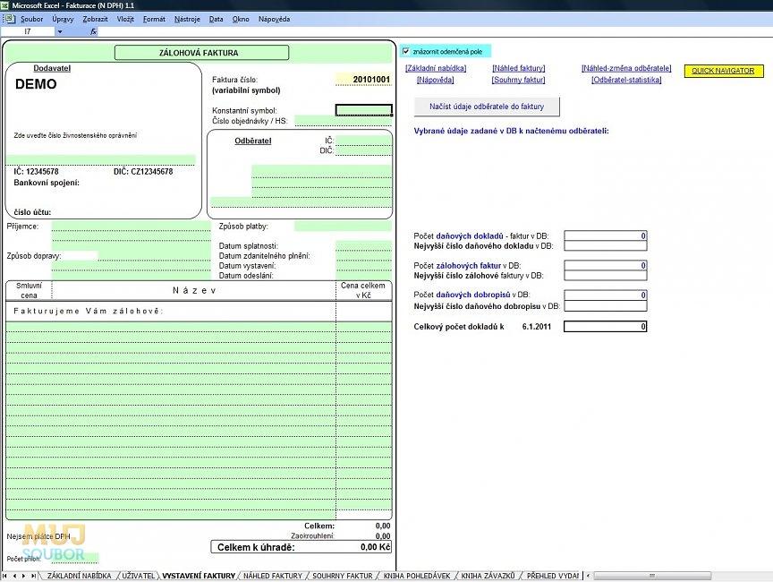 Fakturace Pro Neplátce Dph Download Mujsouborcz
