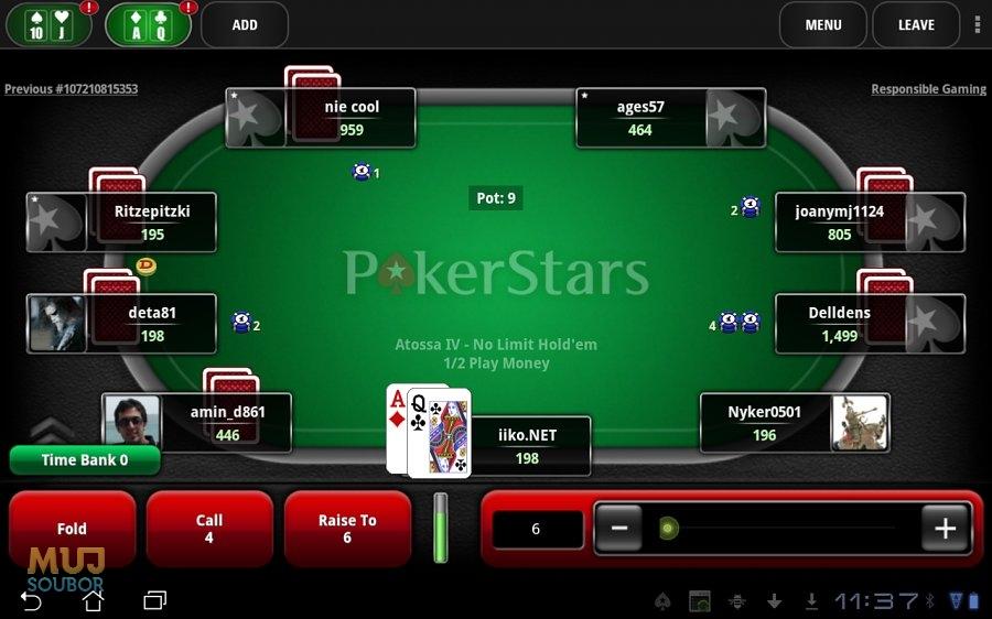 Pokerstars Mobiln 237 Ke Stažen 237 Zdarma Download
