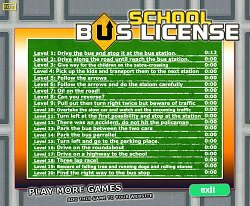 Spousta úkolůSchool Bus License