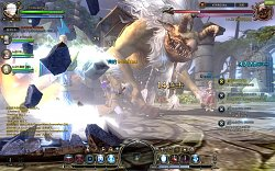 Boj s monstremDragon Nest