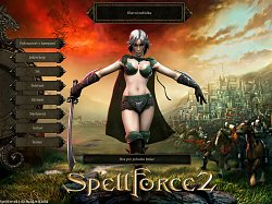 Menu hrySpellForce 2: Shadow Wars