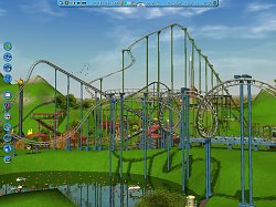 Vzhled hryRollerCoaster Tycoon 3